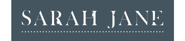 SARAH JANE logo