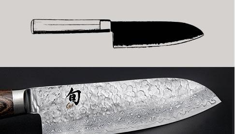 The Santoku  Blade
