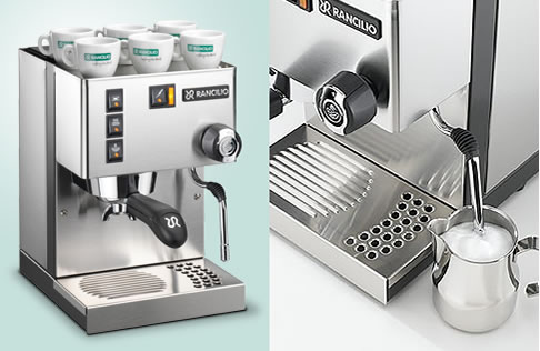 Yuppiechef Top Pick :    Rancilio Silvia M V5  Manual Espresso Machine