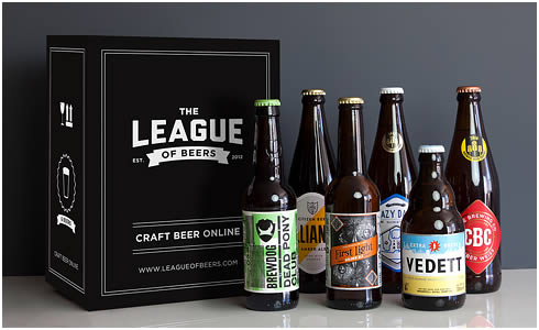 Yuppiechef Top Pick :    League of Beers  Mixed Case