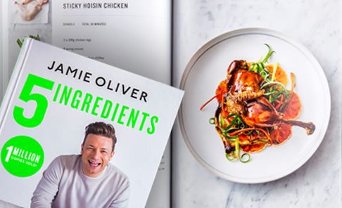 Top Seller :    5 Ingredients:  Quick & Easy Food by Jamie Oliver