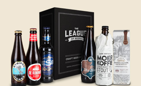 League of Beers Monthly Craft Beer Mixed Case