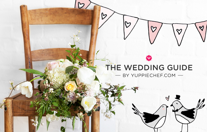 The yuppiechef wedding guide an easy and free wedding planning yc wedding guide banner with logo 1 junglespirit Gallery