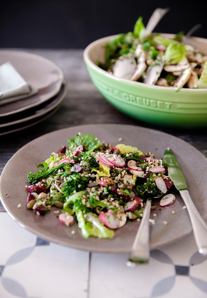 Bulghar-wheat-salad-served