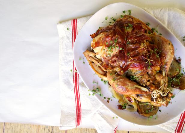 turkey on the weber recipe