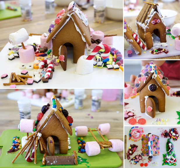 minichef gingerbread houses