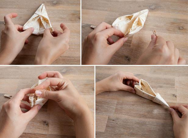 15+ Smart Christmas Napkin Folding Ideas   CollageCab   455x617