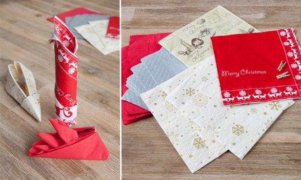 Elf shoe napkin fold for your Christmas table setting ...   370x617