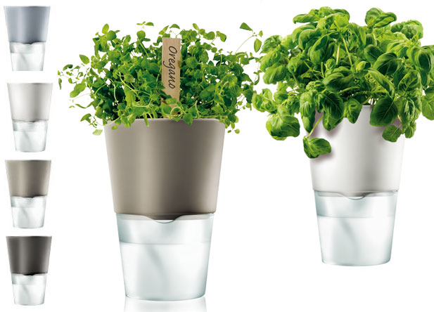 Self watering herb pot by Eva Solo