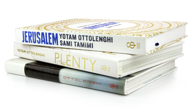 Yotam Ottolenghi and Sami Tamimi cook books