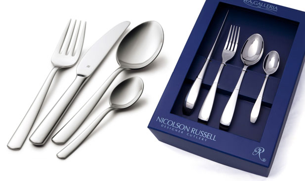 cutlery for wedding couple