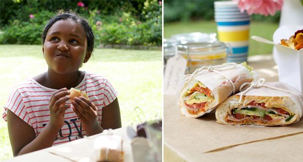 Muffaletta for kids picnic