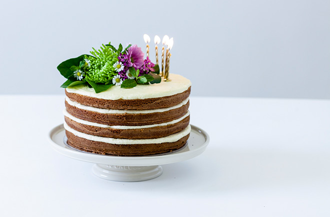 Pleasant Two Ways To Decorate A Simple Naked Cake Funny Birthday Cards Online Elaedamsfinfo