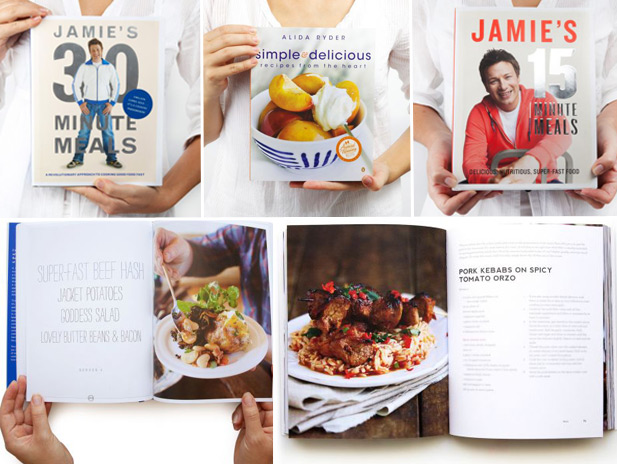 Cookbooks with time saving recipes