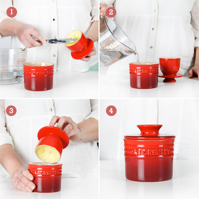 fb127e0b4 How it works  Le Creuset Butter Bell