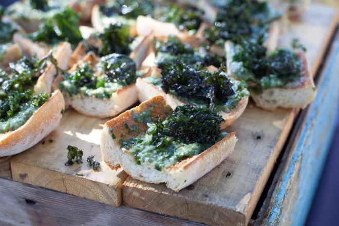 kale recipe - kale chips