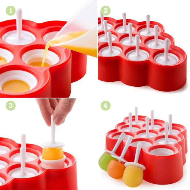 Zoku slow pops