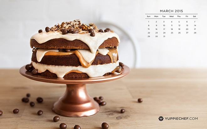 Marchs Free Wallpaper Peanut Butter Cake For Your Screen