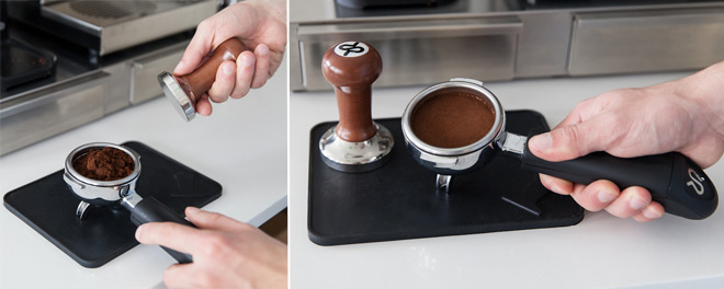 tamp-coffee