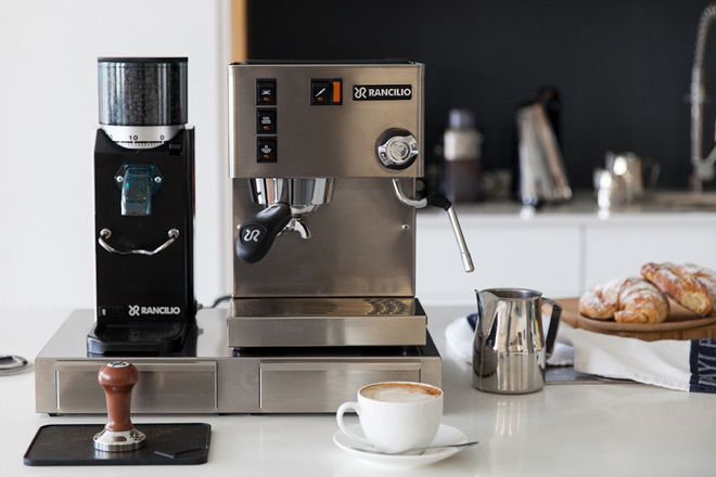 cleaning your espresso machine