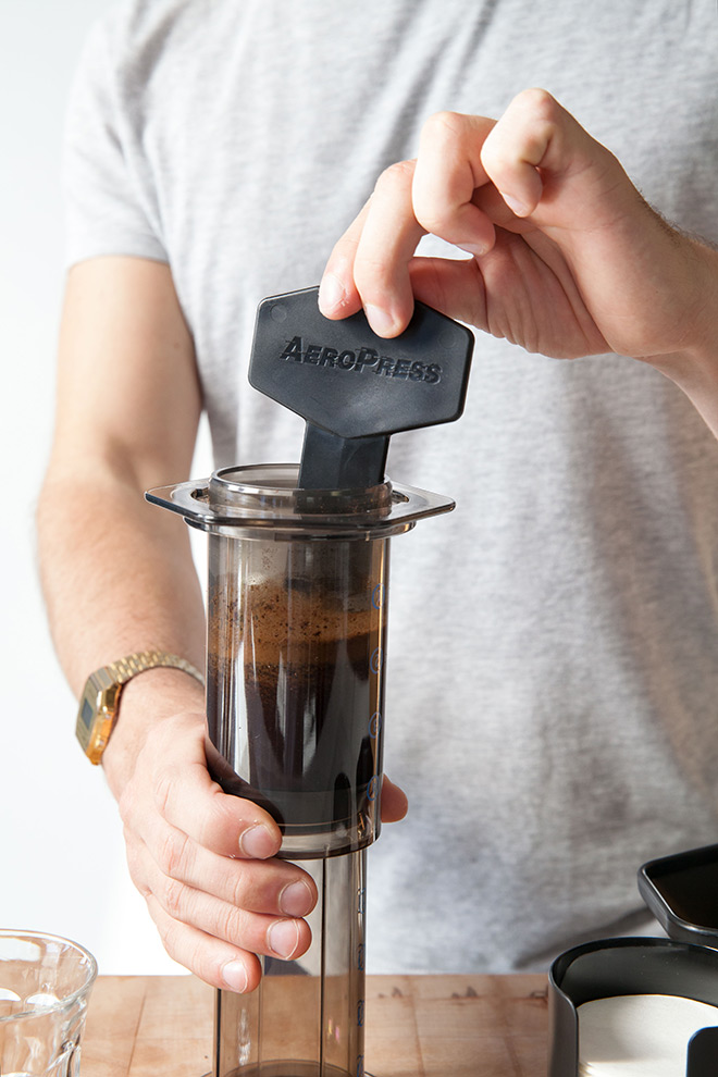 aeropress-making