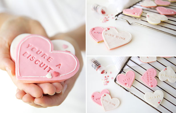 Valentine's day ideas with Letterpress