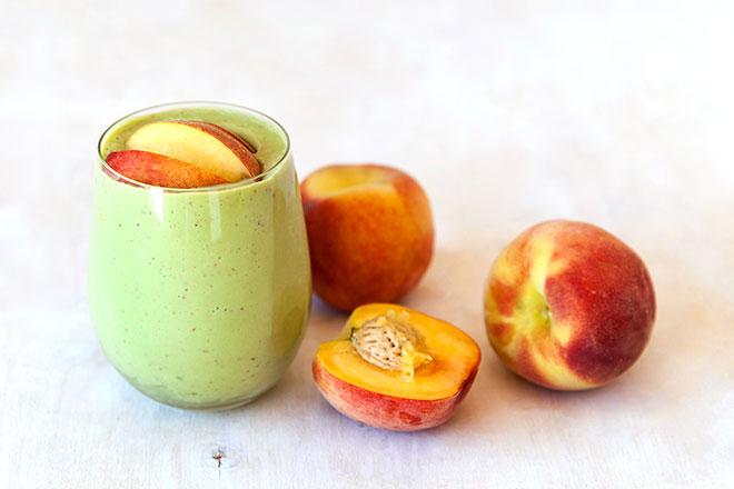 Peach-Smoothie
