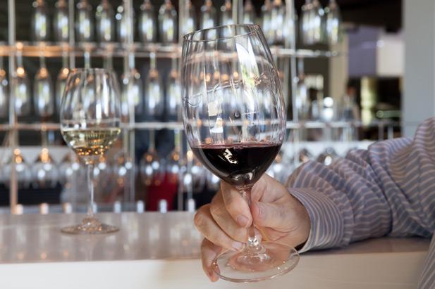Riedel red wine glasses