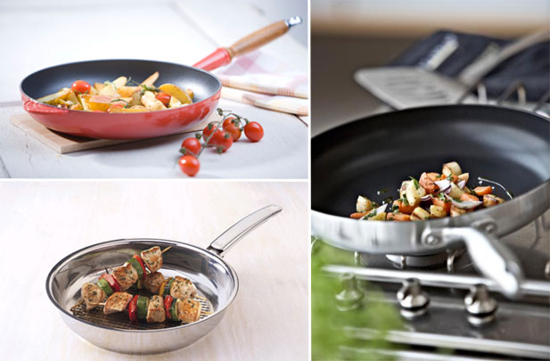 A Guide To Frying Pans Non Stick Or Stainless Steel