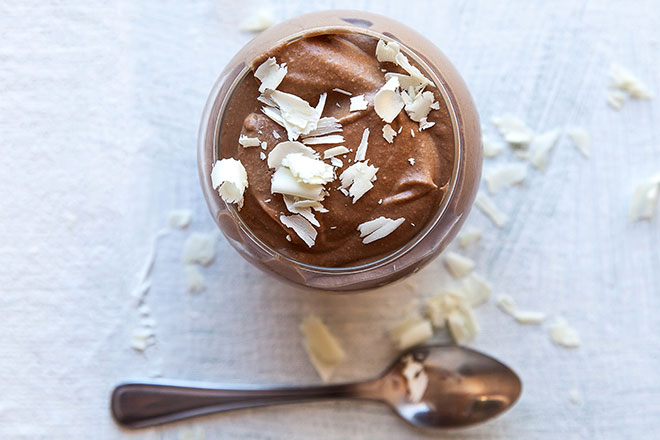 The most decadent and boozy chocolate mousse ever