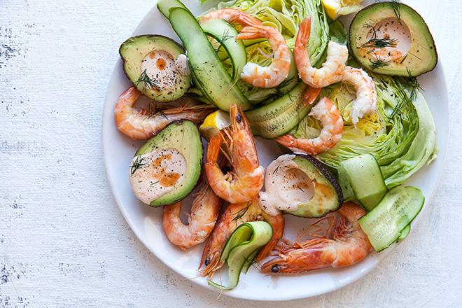 avo-and-prawn-platter