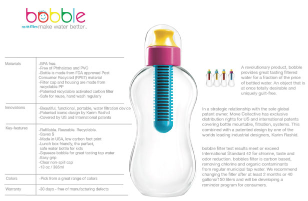 0ef7f71c1c The brilliance of bobble water bottles - Yuppiechef Magazine