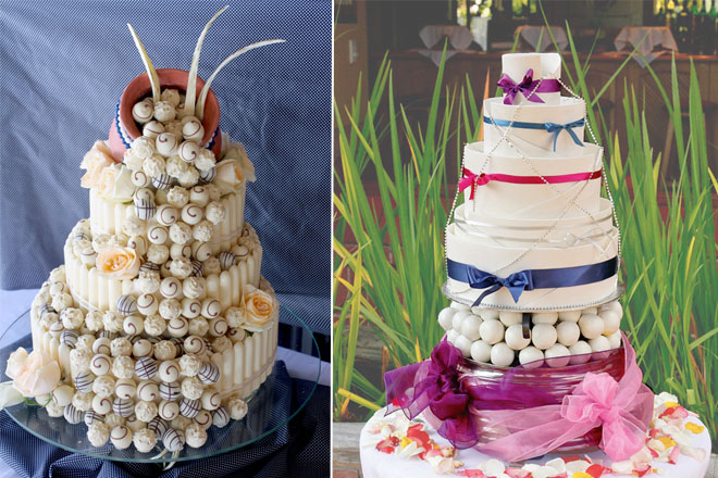 wedding cakes by cakes-by-camillas