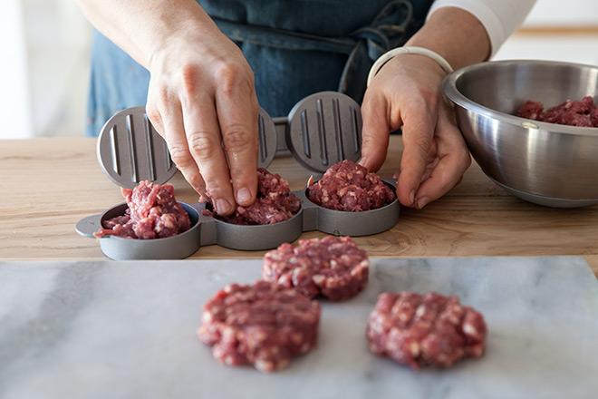 Kitchen Craft Mini Burger Press