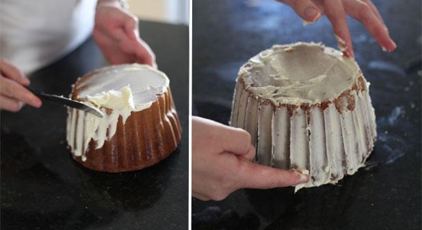 How To Put Fondant On Giant Cupcake Cake