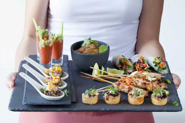 3 easy canap s recipes for Canape serving platters
