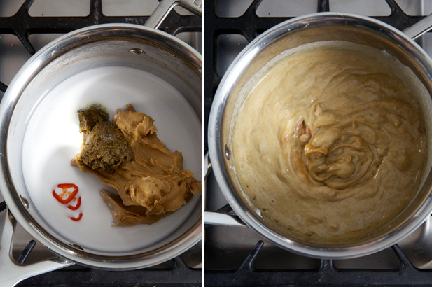 peanut butter sauce for thai chicken