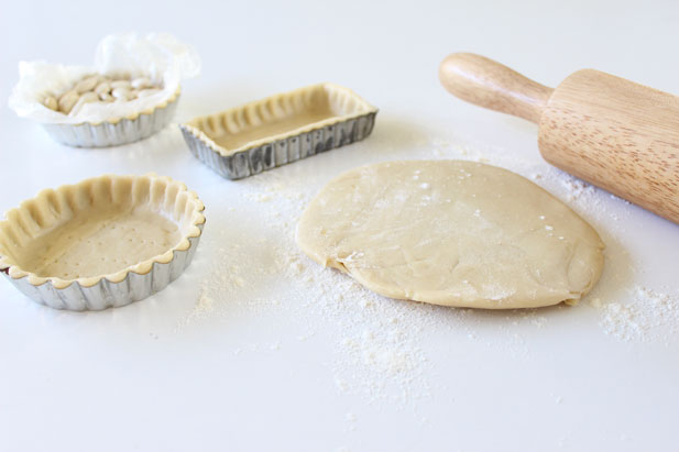 Blind baking the pastry