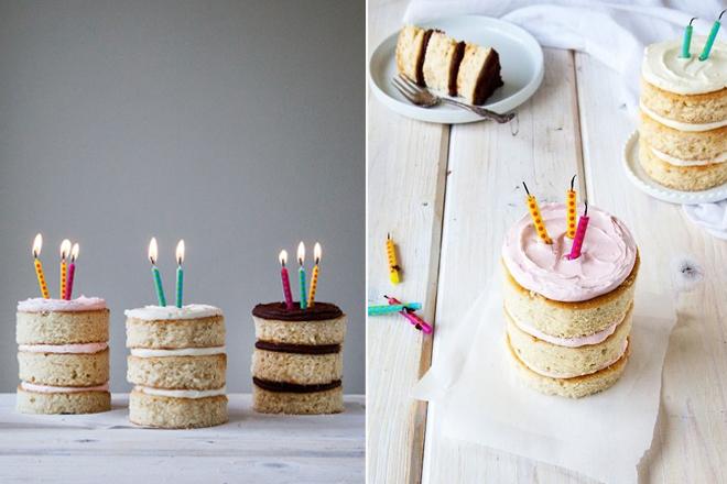 min cakes