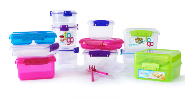 Food Containers By Sistema