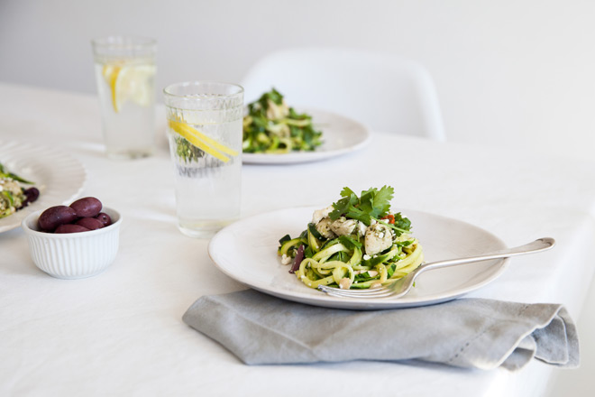 Make a zucchini salad with the Gefu Spirelli