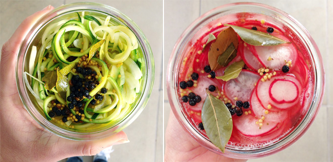 pickled-zucchini-and-radishes