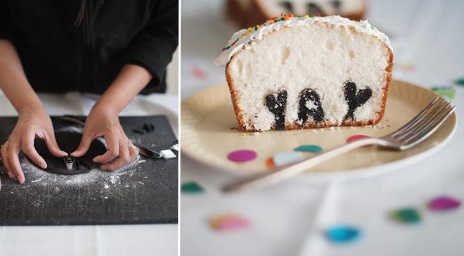Typography-baking