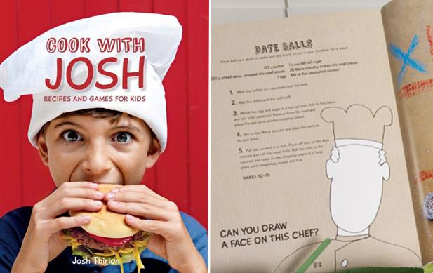 Josh Thirion's cook book 'Cook with Josh'