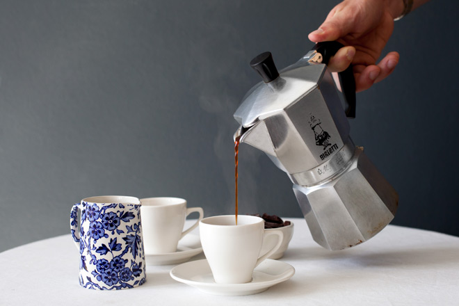 How to make coffee with pot