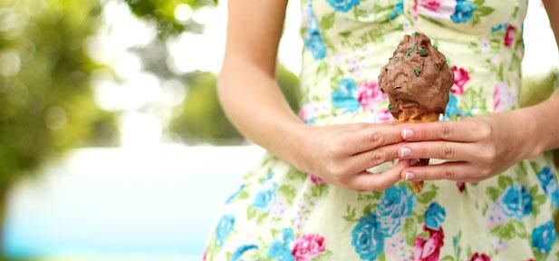 home-made ice cream