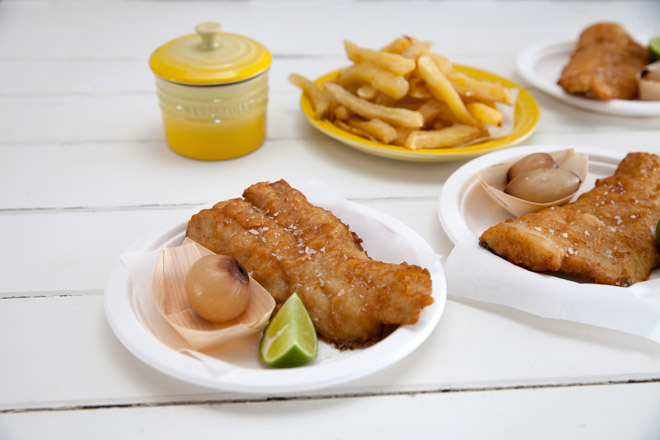 A classic fish and chips recipeYuppiechef