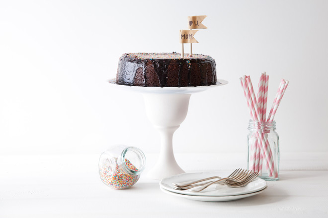 Chocolate cake recipe by Megan Hutton
