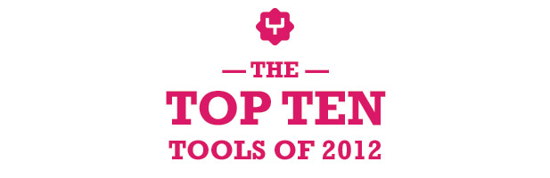 Top tools of 2012