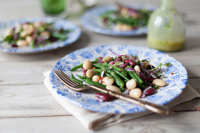a three bean salad recipe